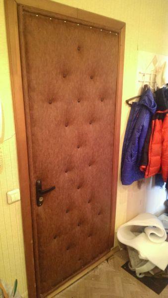 обшивка, обивка,обтяжка, перетяжка двери дермантином