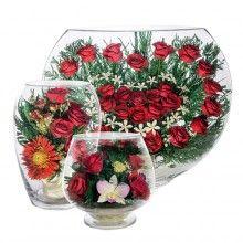 Оптом цветы в стекле в вакууме с доставкой из Москвы