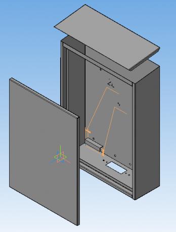 Проектирование деталей машин и механизмов, файлы для резки