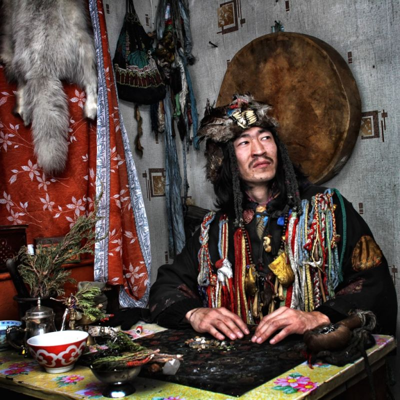 Я Троценко Григорий Николаевич шаман.