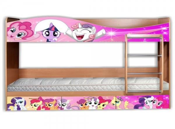 Как сделать двухъярусную кровать для пони