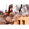 Демонтаж, снос ветхих деревяных строений