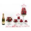 Герметичные вакуумные вазы с натуральными цветами на 5 лет !!!