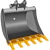 Ковш для экскаваторов-погрузчиков 920 мм