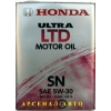Масло Honda 5w30 SN