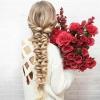 Натуральные волосы на трессе для наращивания волос