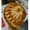 Обучение плетению кос и макияжу