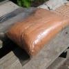 Оранжевый краситель (пигмент) для бетона