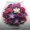 Натуральные цветы в стекле в вакууме (в герметичных вазах).Ищем партнеро