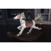 Продам деревянную лошадку - качели