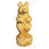 Ростовая фигура из кедра «Медведь»
