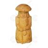 Ростовая фигура из кедра «Старичок-гриб»