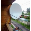 Установка спутниковых антенн на любых объектах