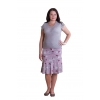 Ю-003 трикотажная юбка оптом от производителя